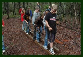 Low Ropes Team Work